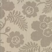 Moda Madam Rouge by French General - 5692 - Camellia Floral  Grey on Cream- 13774 12 - Cotton Fabric